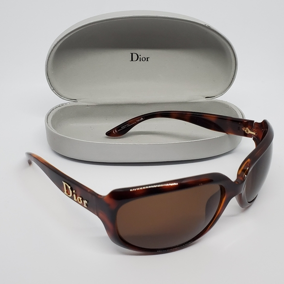 Dior Glossy 2 Brown Tinted Sunglasses!